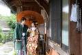 先祖代々受け継がれるている和傘は感謝の表れ。