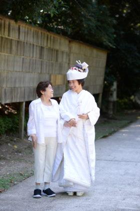 おばあちゃんと一緒に写真撮るのが夢でした。