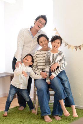 家族写真は月日が経った時宝物になる
